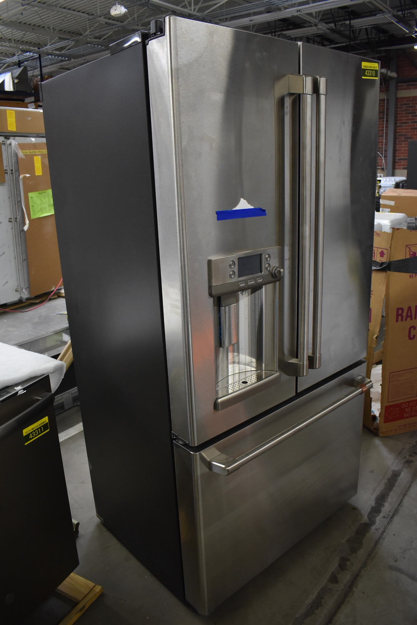 Ge Cafe Cye22tp2ms1 36 Quot Stainless Cd French Door