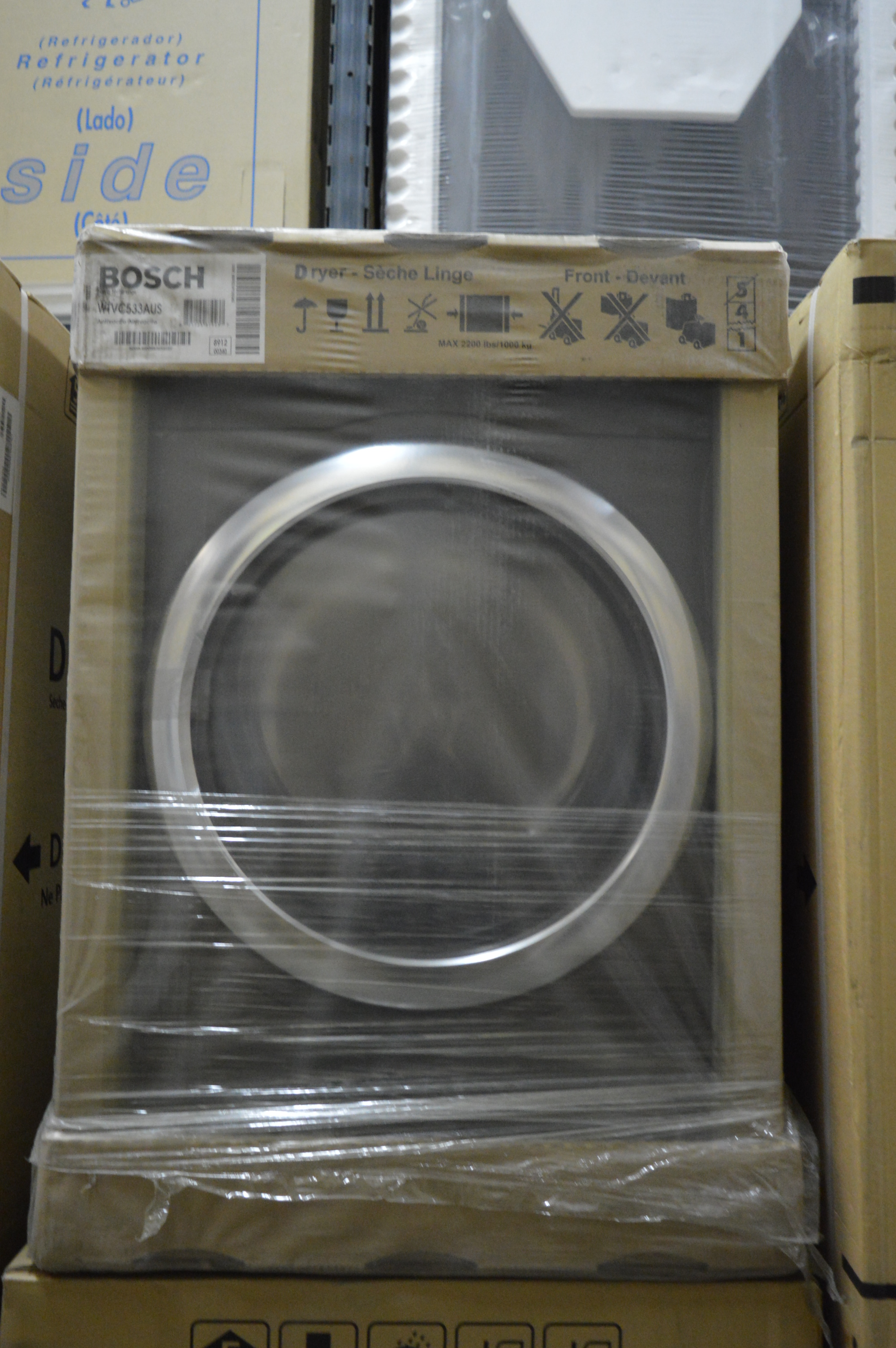 Bosch Wtvc533aus 27 Quot Anthracite Front Load Electric Dryer