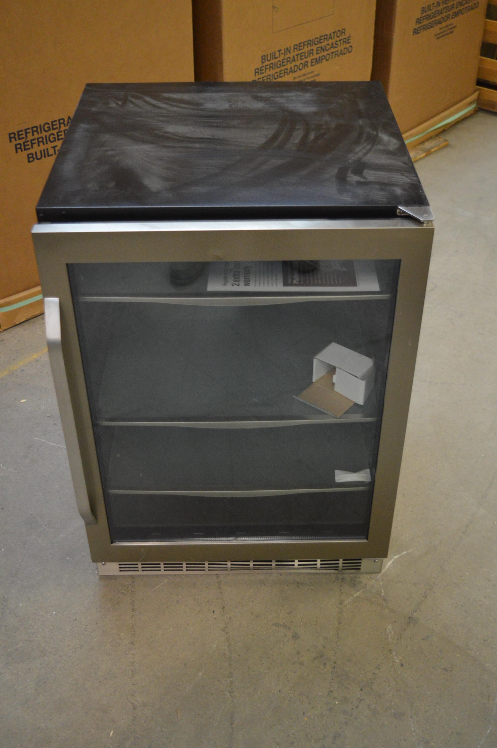 Under Counter Beverage Centers Danby Dbc162blsst 24 Stainless Under Counter Beverage Center T 2