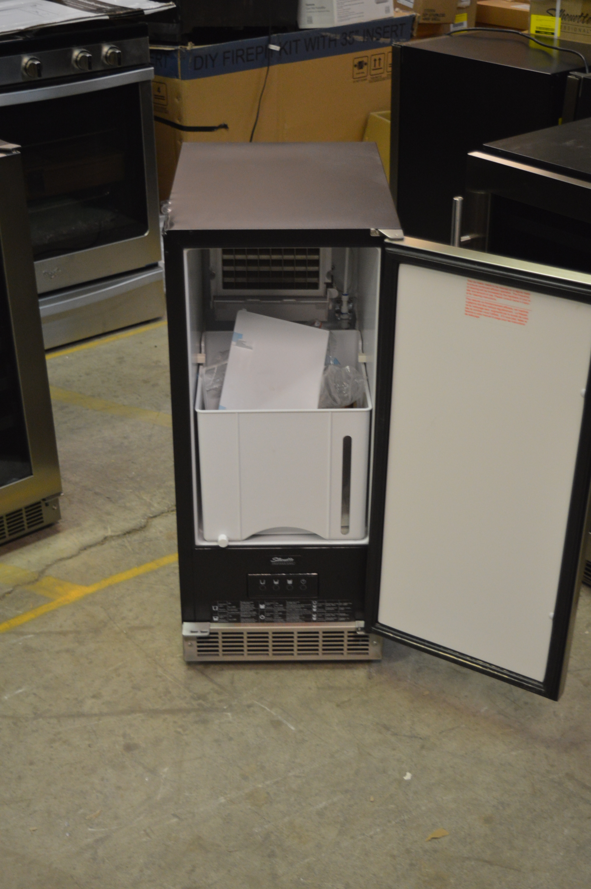 Danby Dim32d1bsspr 15 Quot Stainless Built In Ice Maker T 2