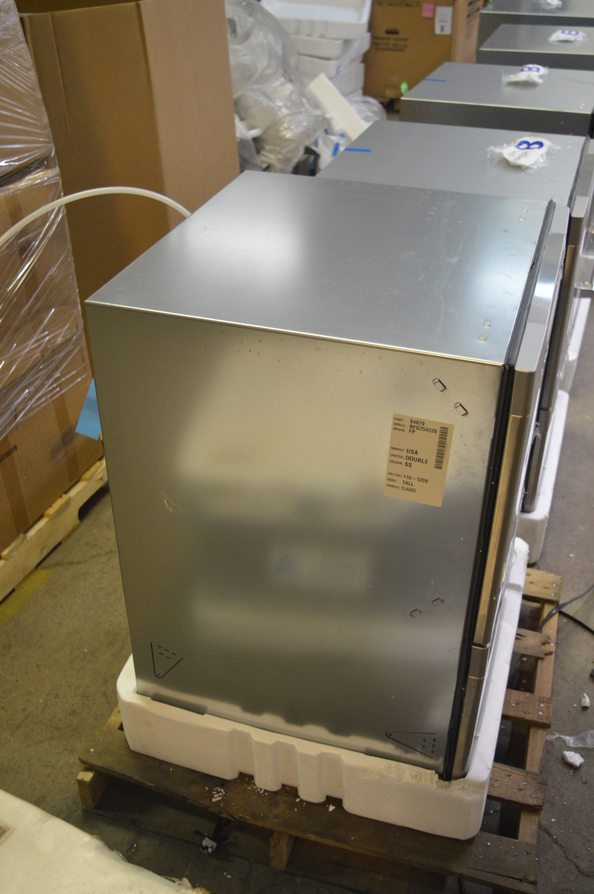Fisher paykel dd24dctx7 24 stainless double drawer dishwasher t 2 6336 ebay - Fisher paykel dishwasher drawer reviews ...