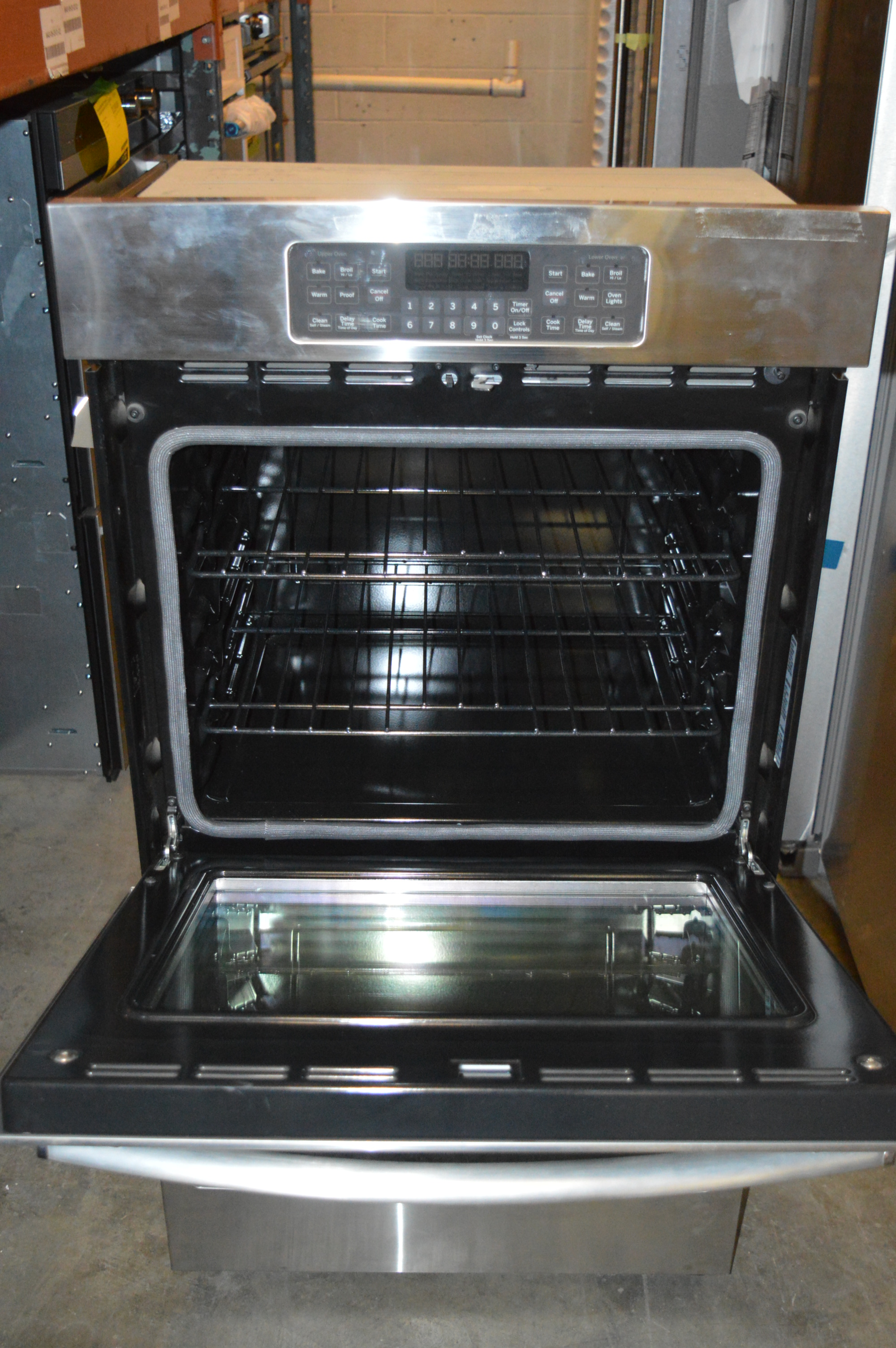Ge Jk3500sfss 27 Quot Stainless Built In Electric Double Wall