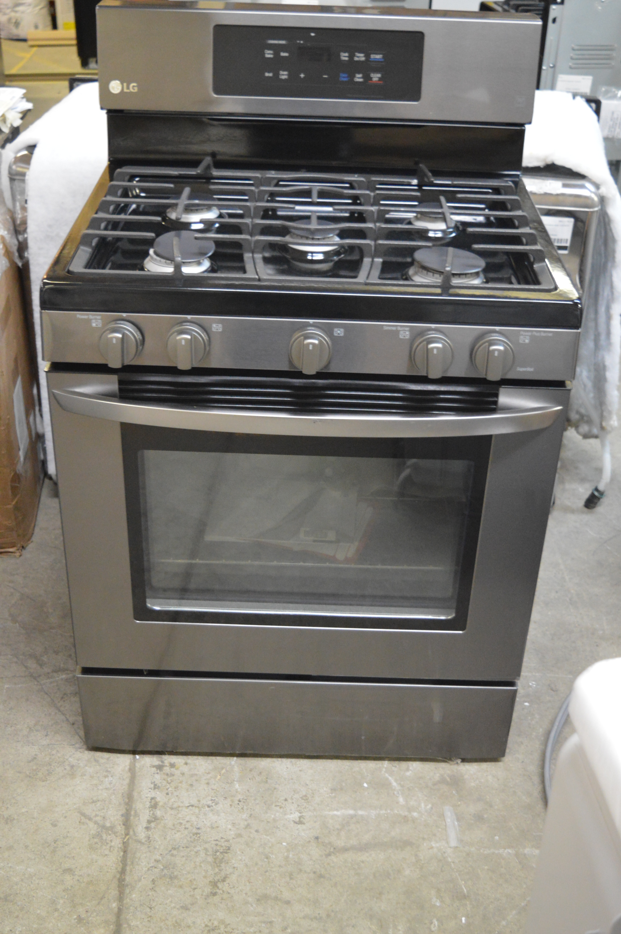 LG LRG3081BD Black Stainless Steel Gas Ovens (Gas and Electric) | eBay