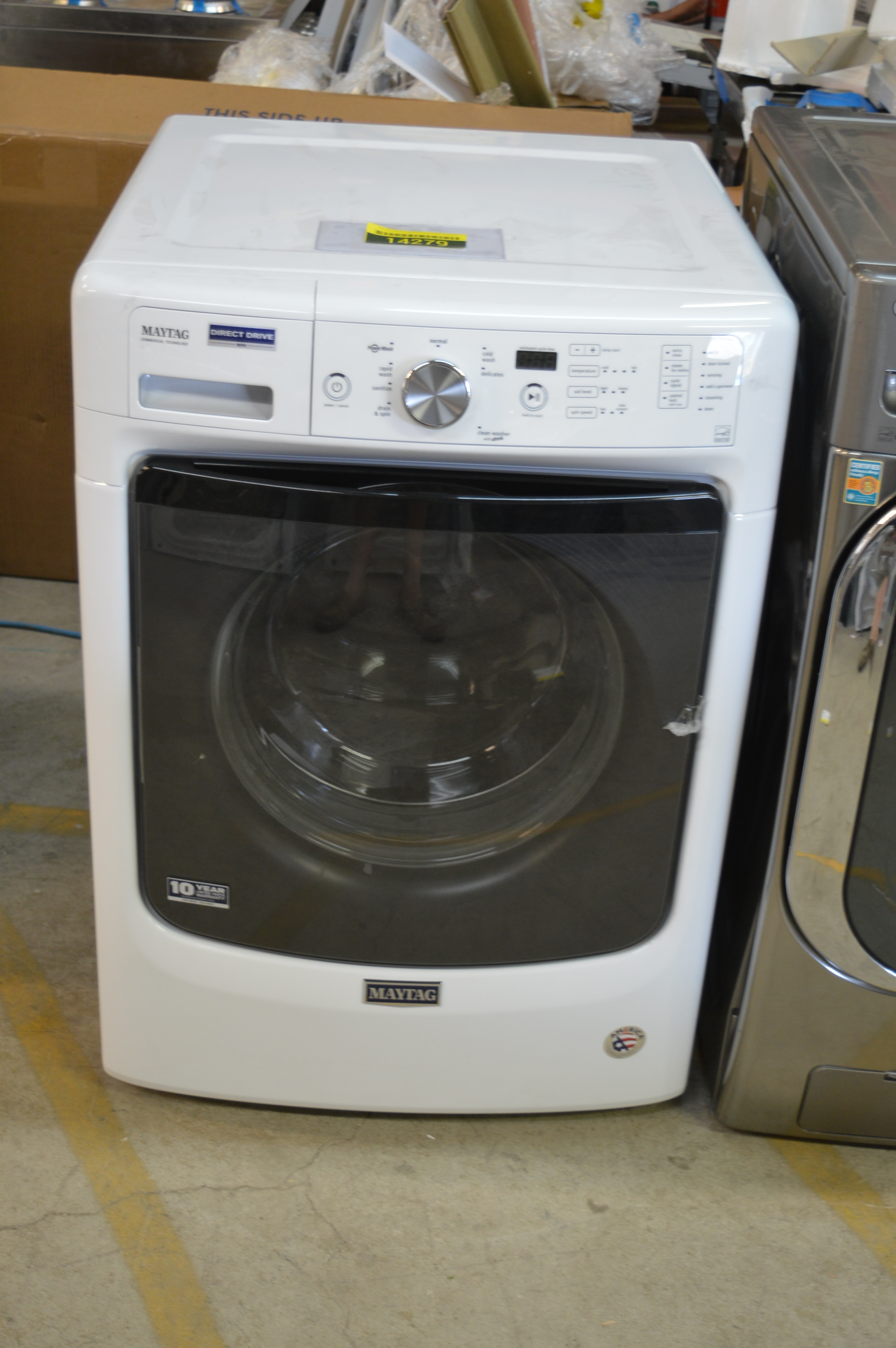 Maytag Mhw3505fw 27 Quot White Front Load Washer Nob Clw T 2