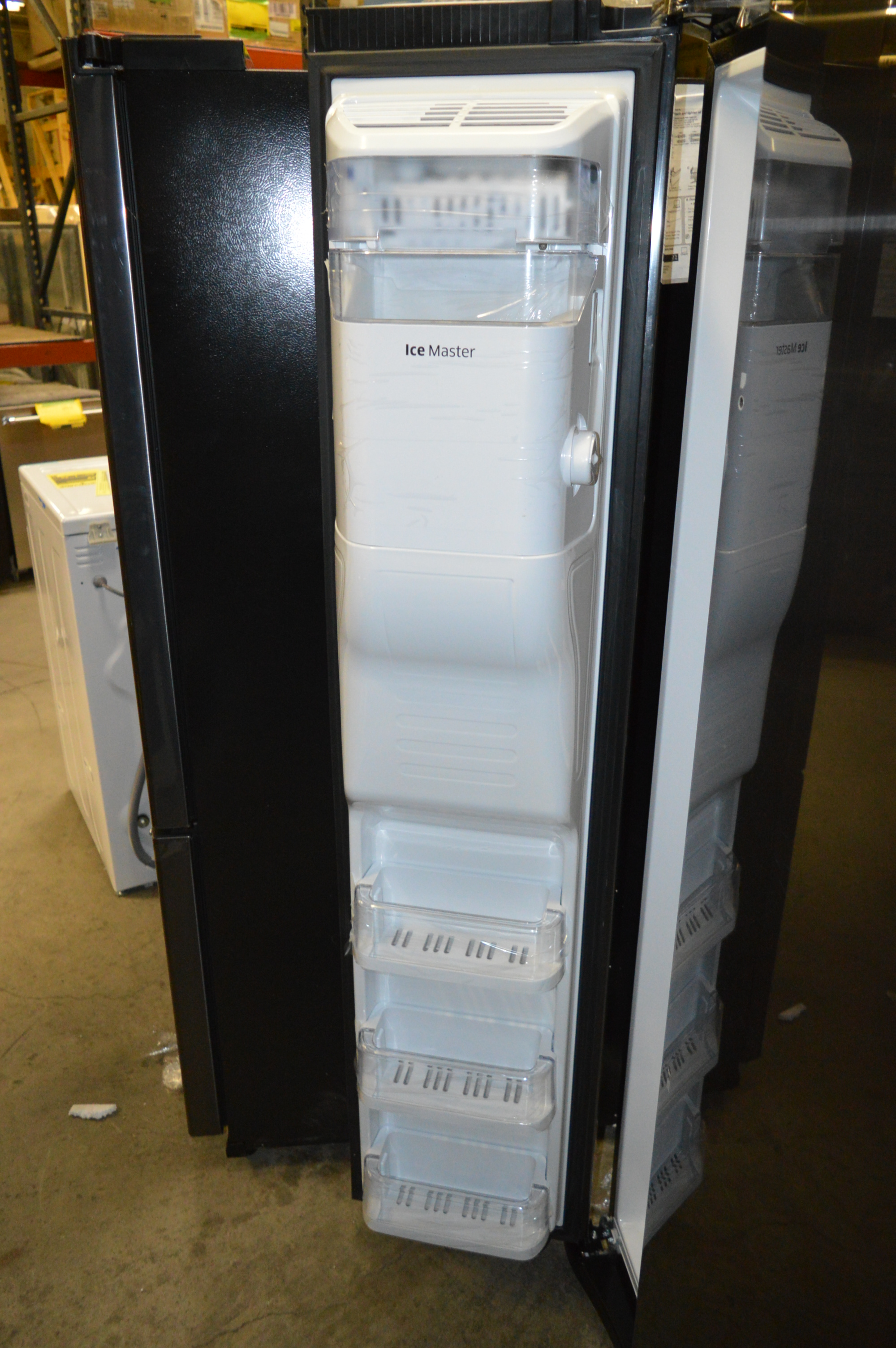 Samsung Rs25h5111sg 36 Quot Black Stainless Side By Side