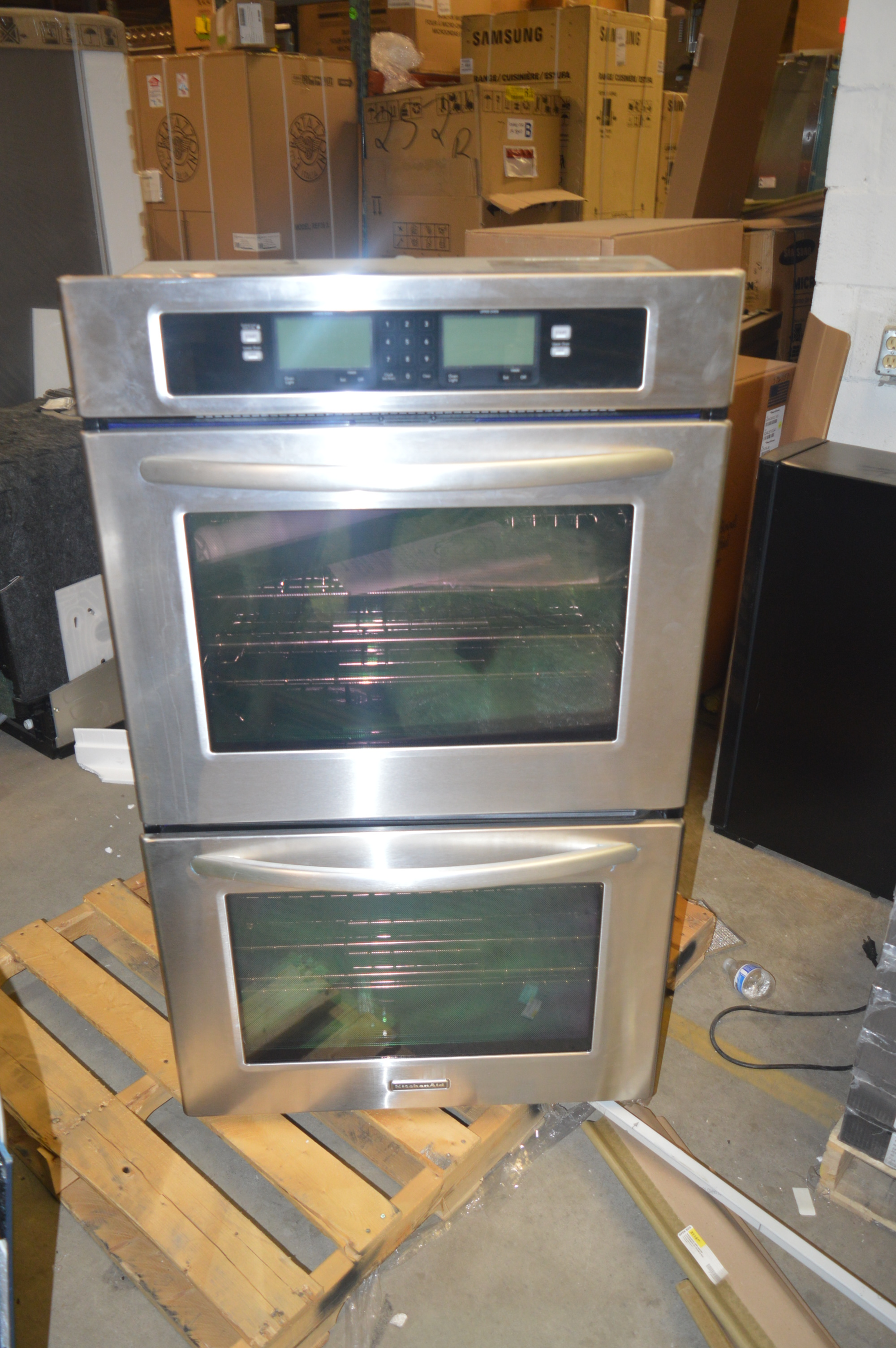 Etonnant Image Is Loading KitchenAid KEBU208SSS 30 034 Stainless Built In Convection