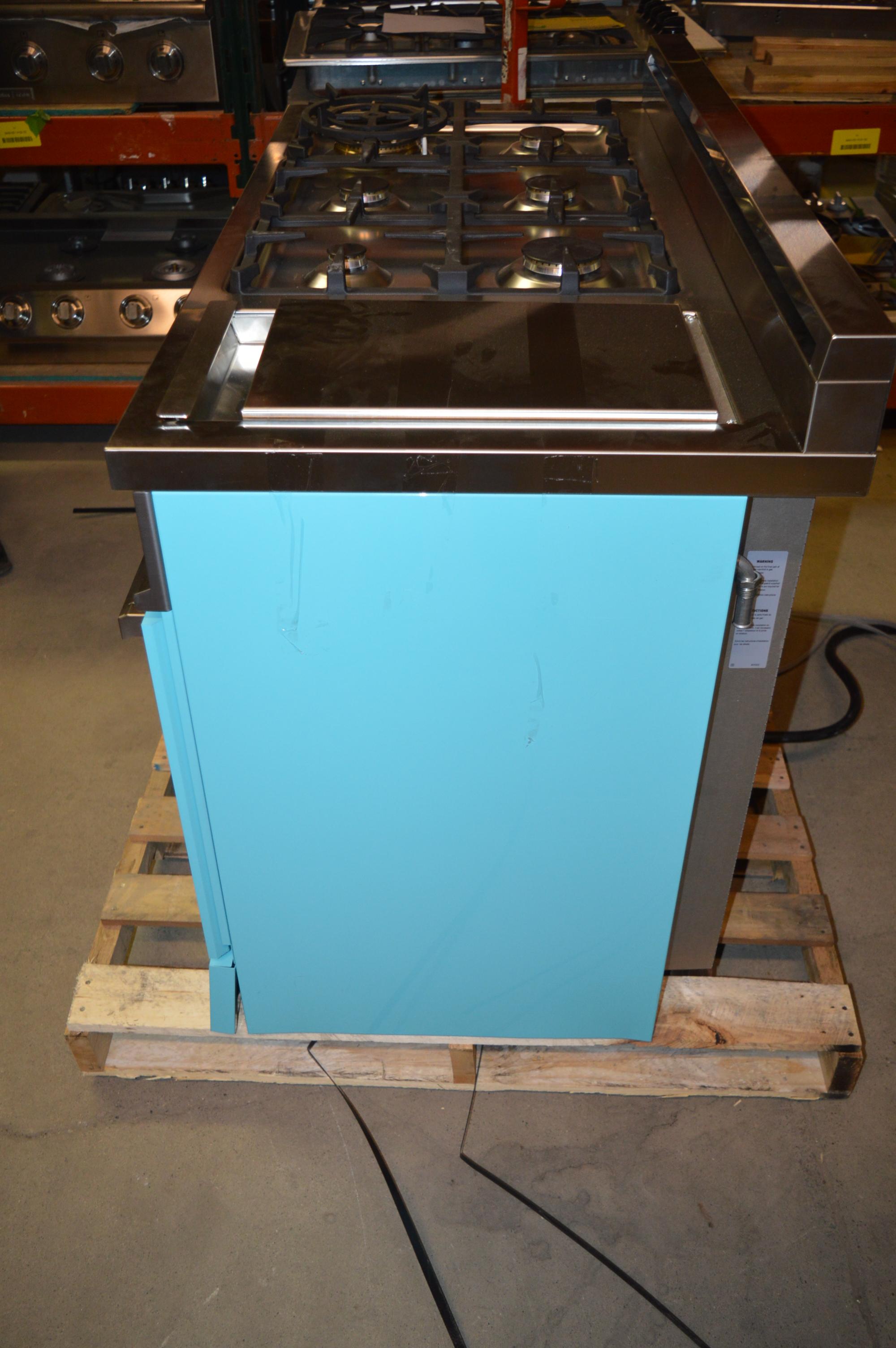 Bertazzoni Professional Pro486gdfsaz 48 Quot Azzurro
