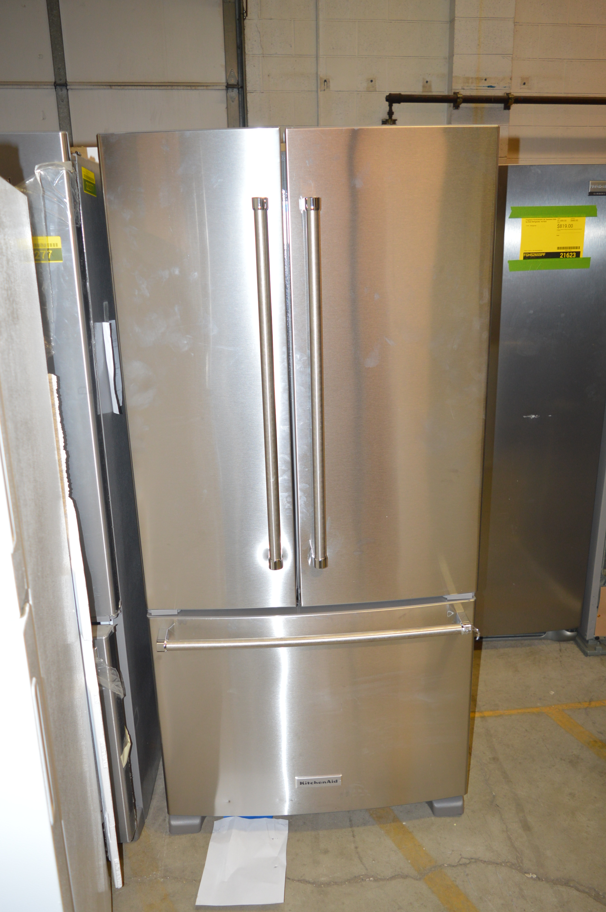 Kitchenaid Krff302ess 33 Quot Stainless French Door
