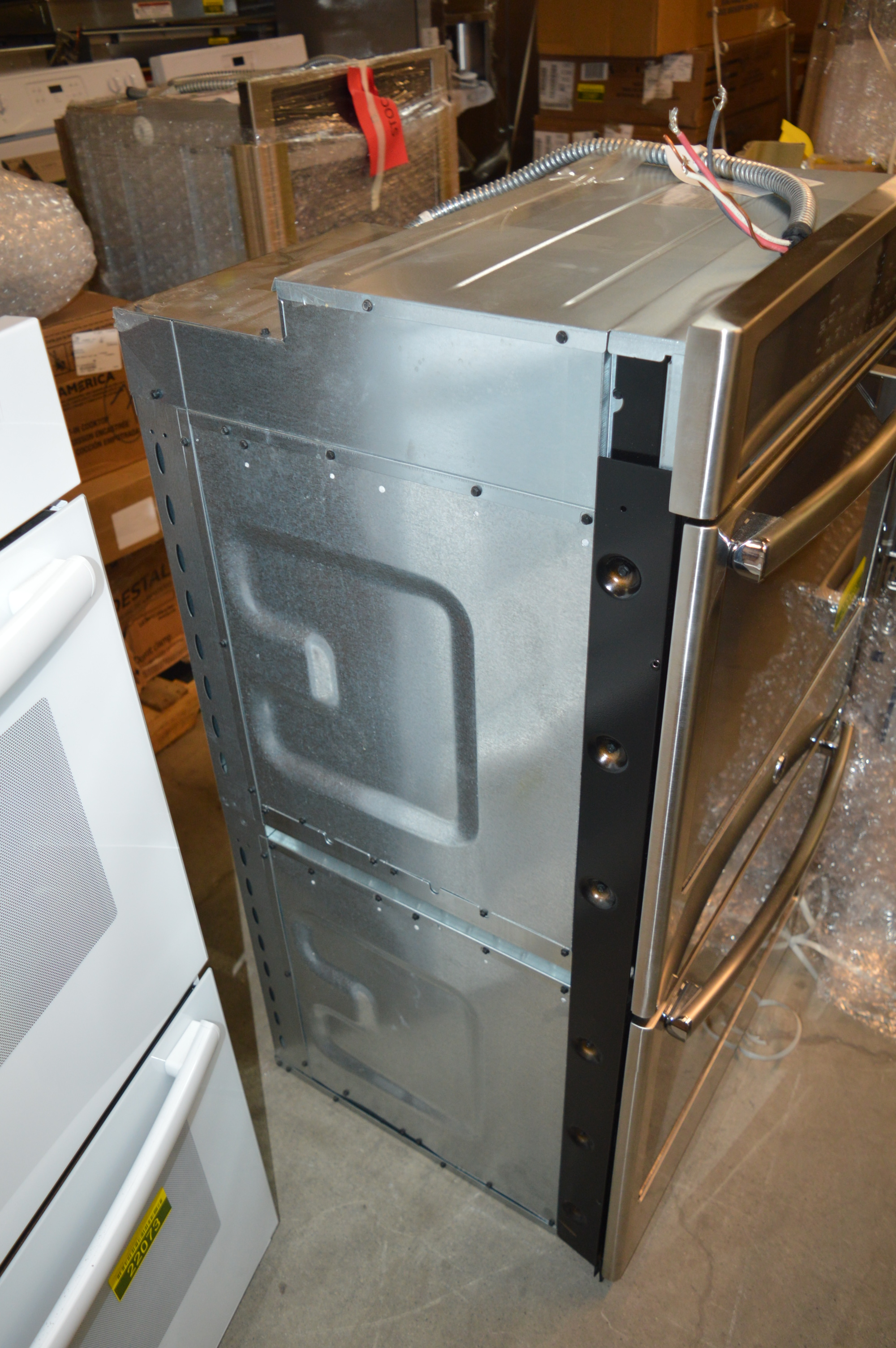 Ge Pk7500sfss 27 Quot Stainless Double Electric Wall Oven 22066
