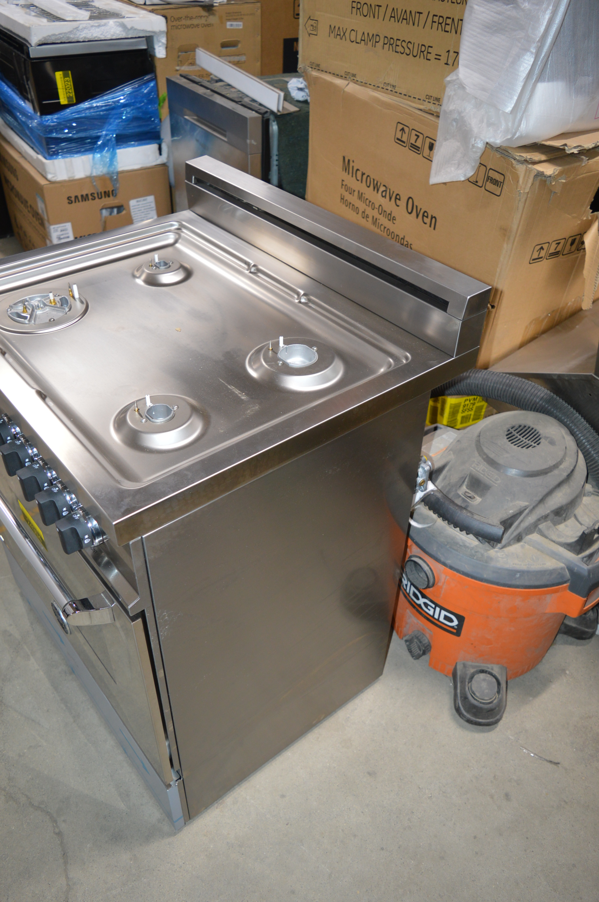 Bertazzoni Mas304gasxe 30 Quot Stainless Pro Style Natural Gas