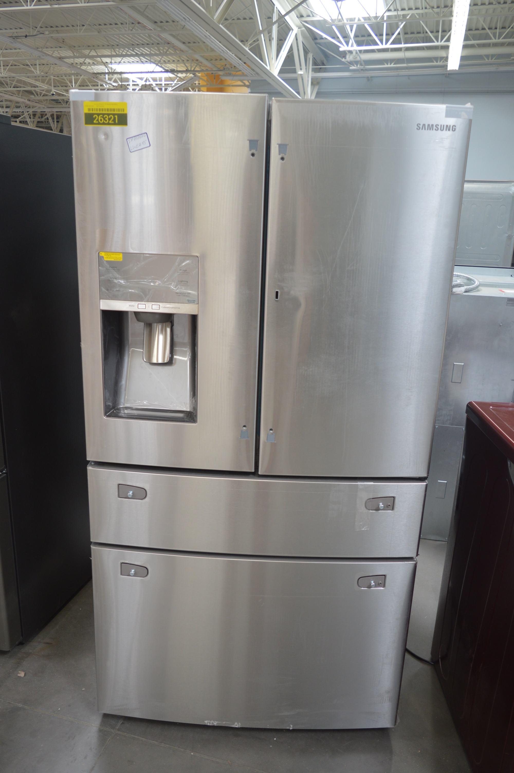 Samsung Rf28jbedbsr 36 Quot Stainless French Door Refrigerator