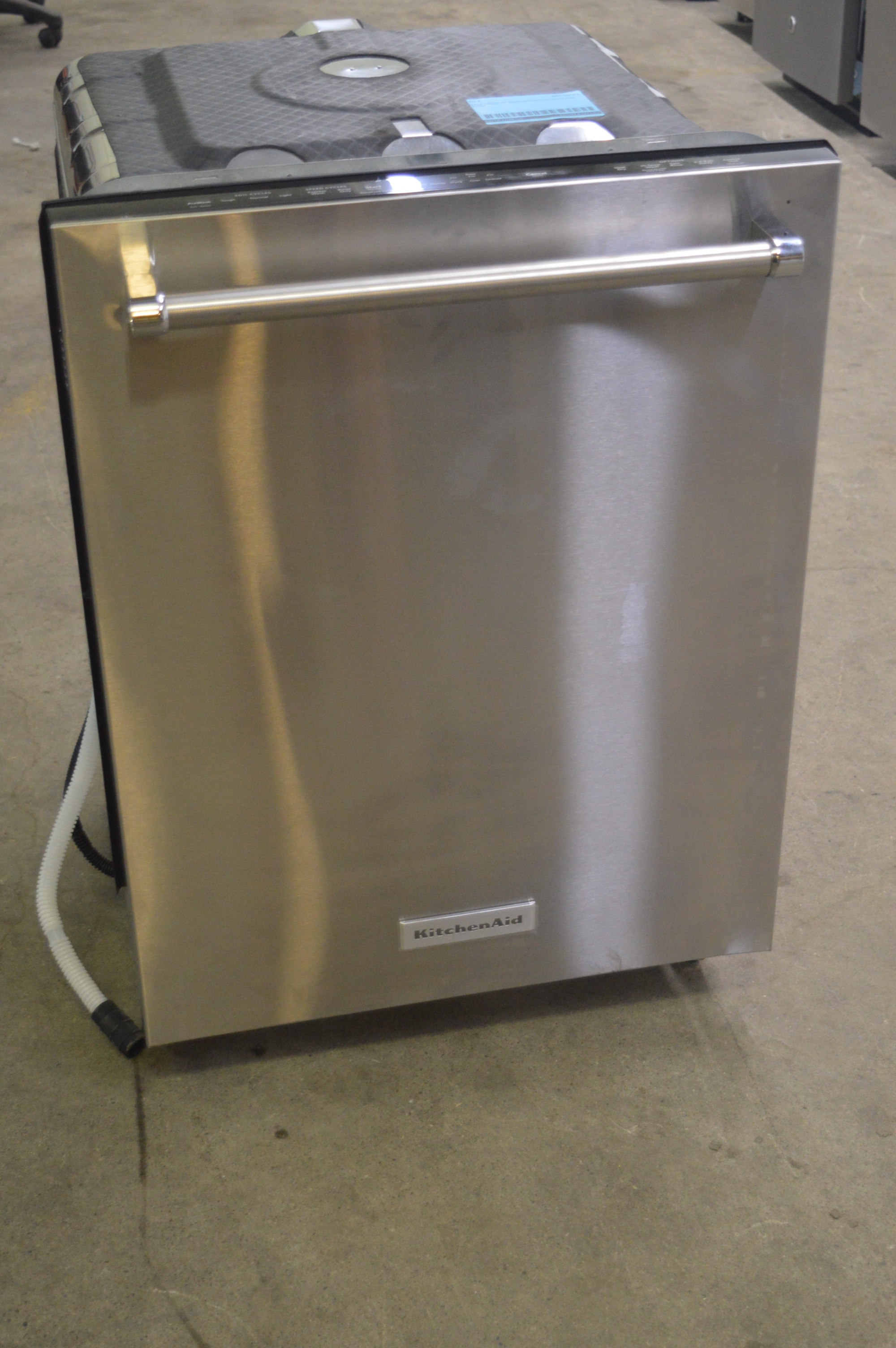 """KitchenAid KDTE104ESS 24"""" Stainless Tall Tub Built-in ..."""